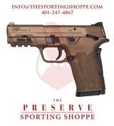 "S&W M&P EZ Shield TS Semi-Auto 9mm 3.6"" Handgun Burnt Bronze - 1 of 3"