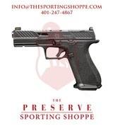 "SS DR920 Elite Slide OR Semi-Auto 9mm 4.5"" Handgun"