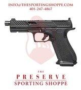 "SS DR920 Elite OR Thread Semi-Auto 9mm 5"" Handgun"