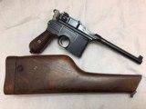 MAUSER C96 BROOMHANDLE RIG 1933 SUPERB! - 2 of 12