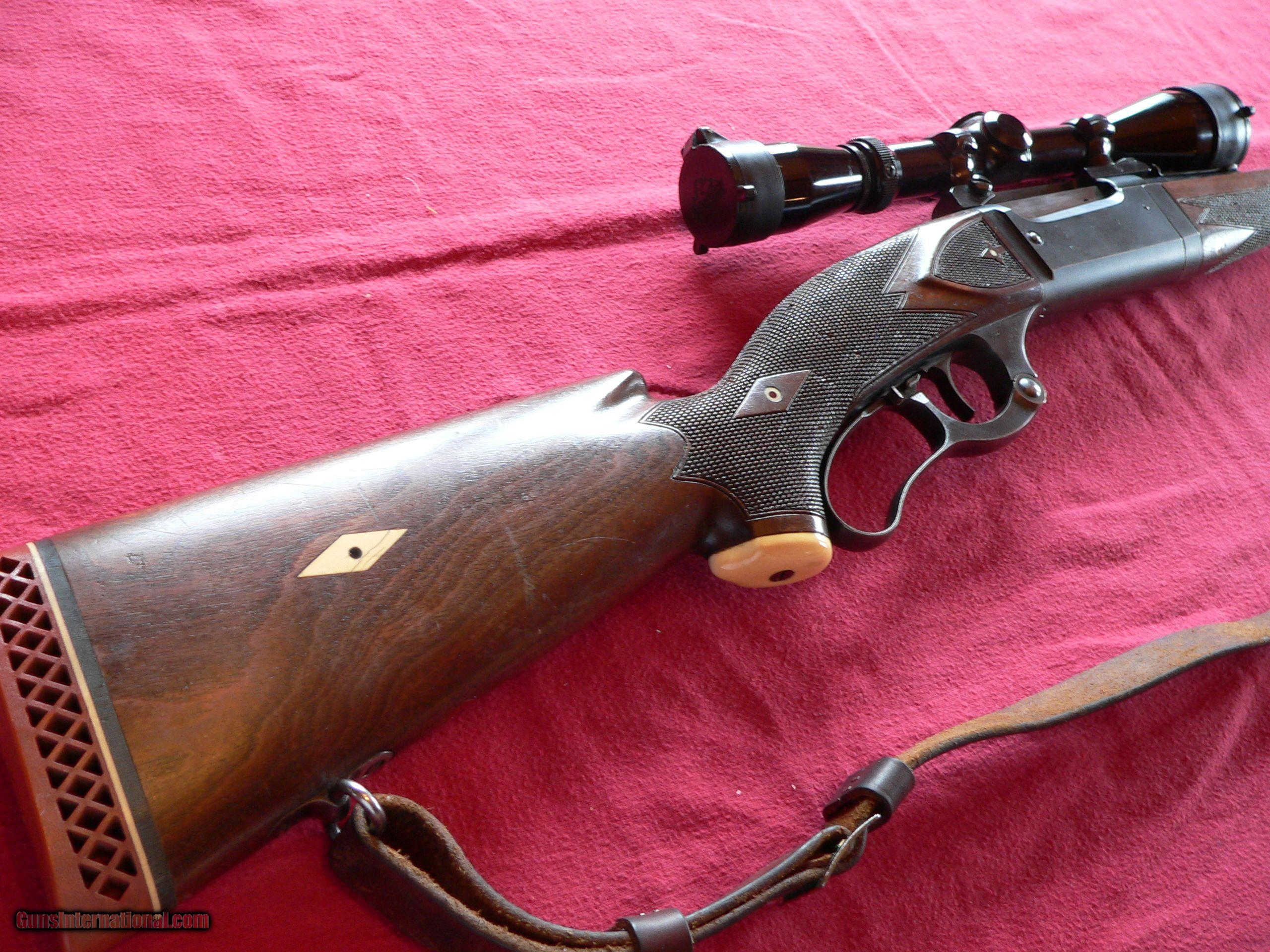 Savage Model 99 Lever-action Take-Down Type, cal. 300 Savage Rifle