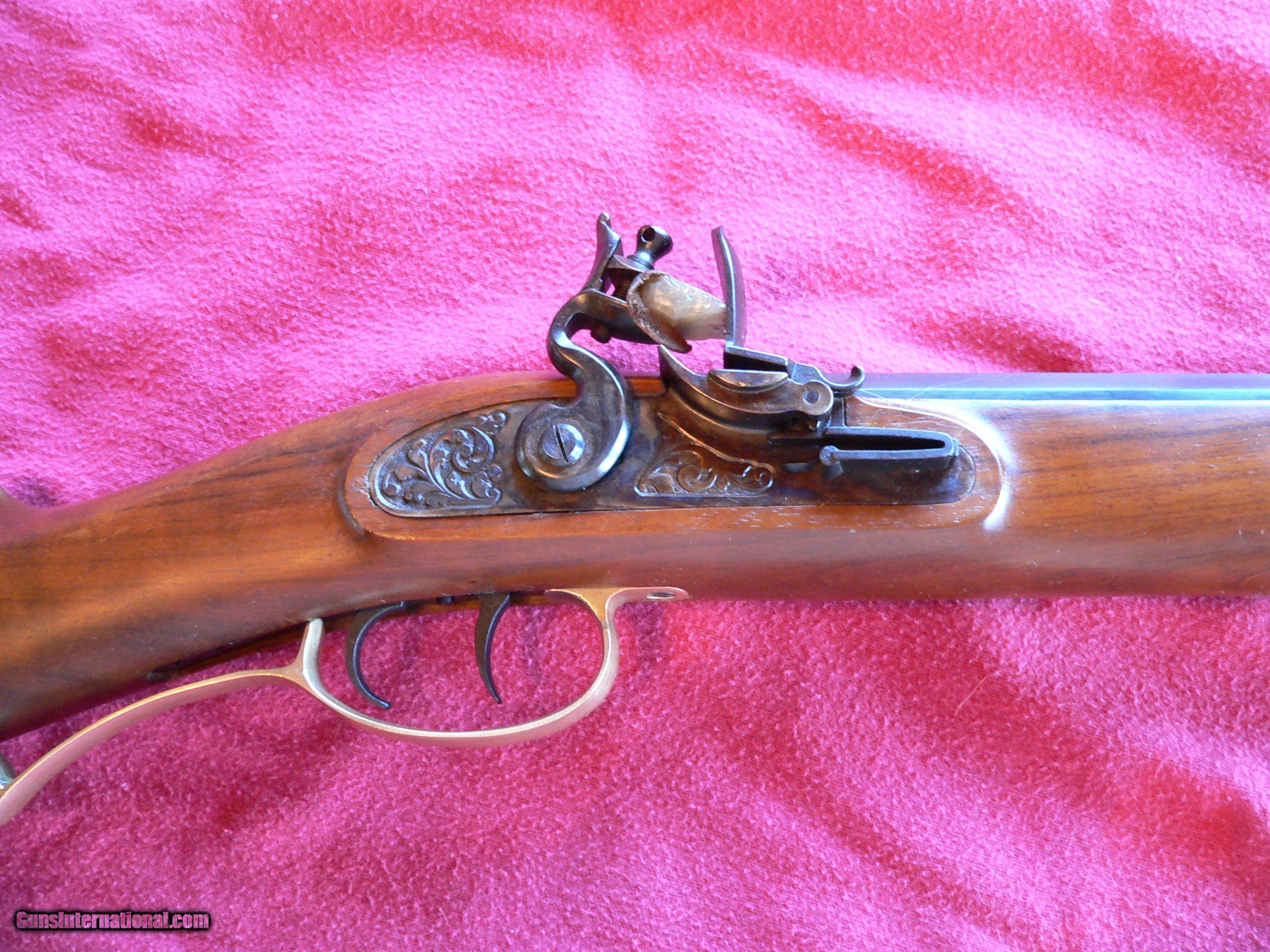 Hawken 50 cal  Flintlock Rifle (Italian-made)