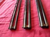 Three (3) As New Krieghoff K-80 Barrels (20 gauge, 28 gauge, 410 gauge).