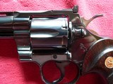 """Colt Python cal. 357 Mag. 6"""" Blue Revolver manufactured in 1981 - 14 of 16"""