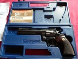 """Colt Python cal. 357 Mag. 6"""" Blue Revolver manufactured in 1981 - 1 of 16"""
