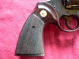 """Colt Python cal. 357 Mag. 6"""" Blue Revolver manufactured in 1981 - 10 of 16"""