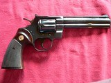 """Colt Python cal. 357 Mag. 6"""" Blue Revolver manufactured in 1981 - 3 of 16"""