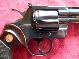 """Colt Python cal. 357 Mag. 6"""" Blue Revolver manufactured in 1981 - 12 of 16"""