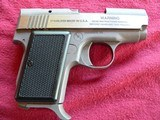 AMT Model 380 Back-Up, cal. 380 Auto Stainless steel Pistol - 3 of 7