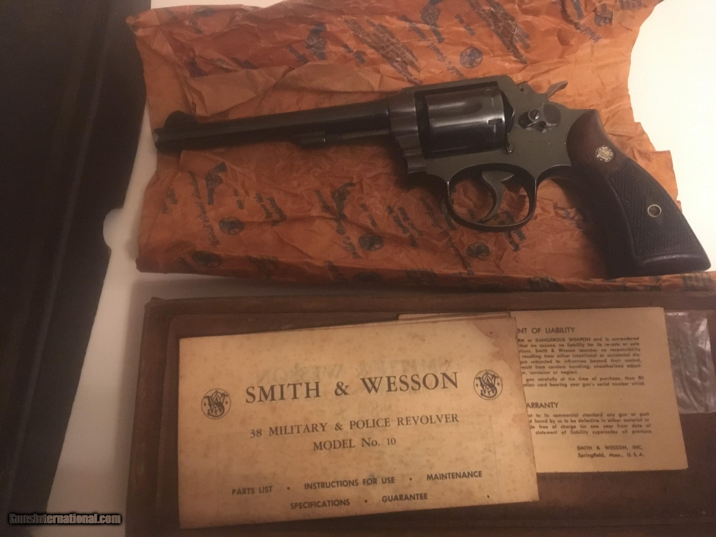 Dating Smith ja Wesson malli 10