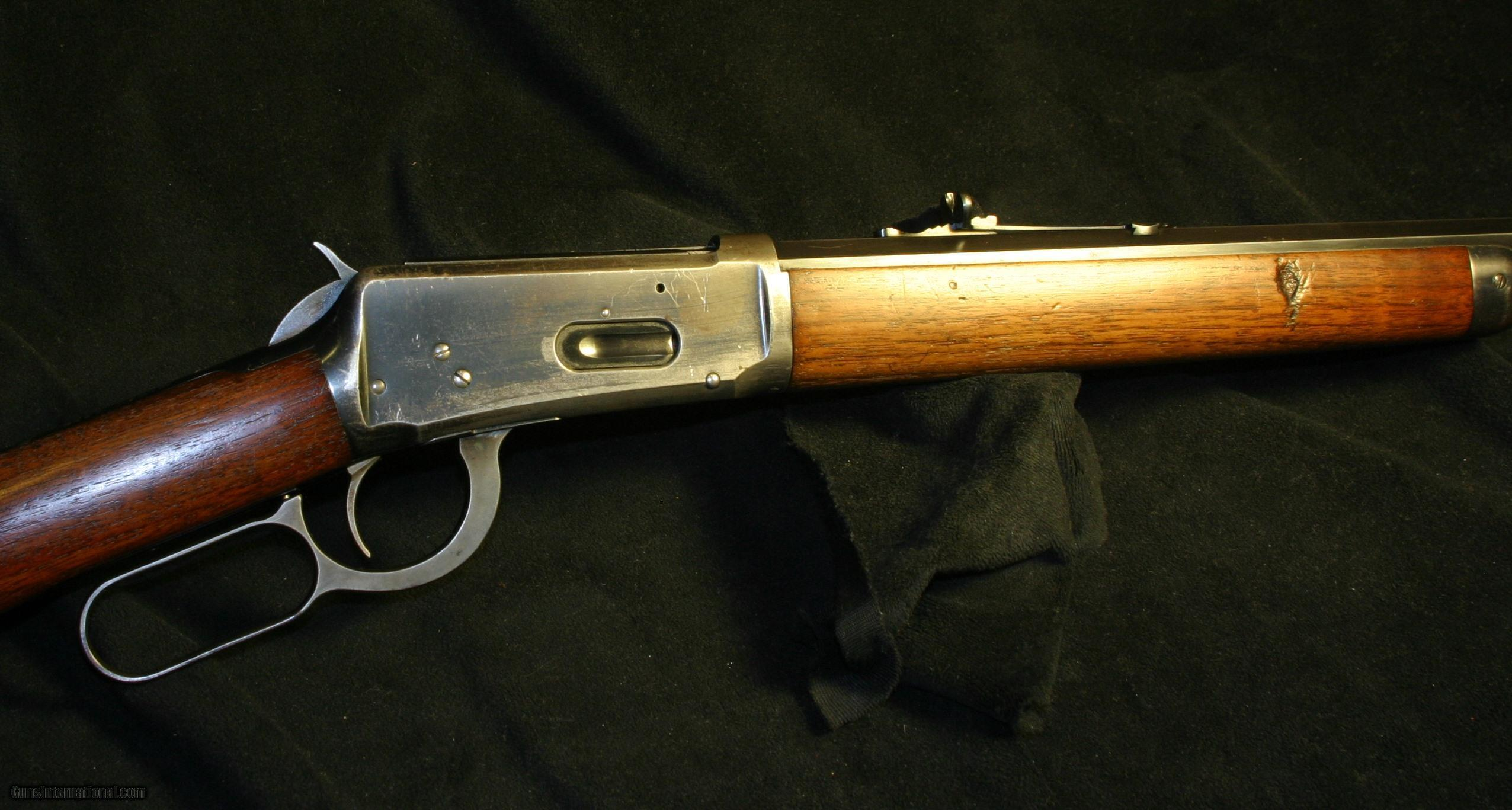 Winchester 1894 rifle.38-55
