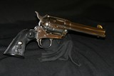 COLT SAA .45LC NICKEL - 4 of 11