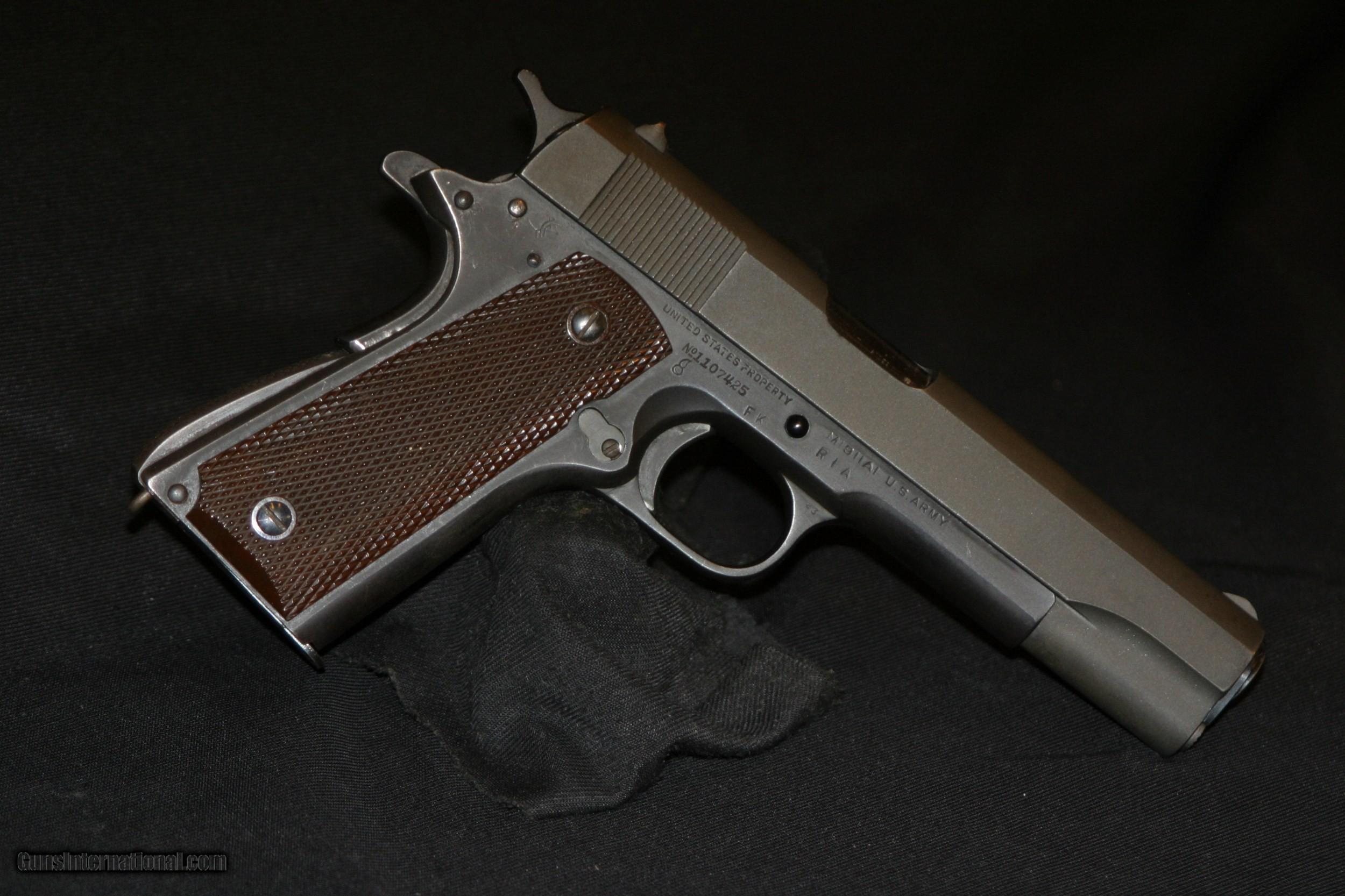 Colt 1911a1 Rework
