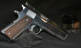COLT GOVERMENT BULL'S EYE GUN.45