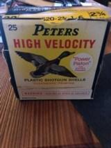 """Peters 20 ga PS 20 2 3/4"""" #6 shot - 1 of 1"""
