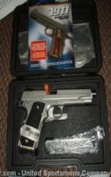 New in box Sig Sauer 1911 XO 45 ACP pistol - 1 of 3