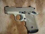 Sig Sauer P238 Desert Tan .380 pistol - 6 of 7