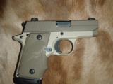 Sig Sauer P238 Desert Tan .380 pistol - 5 of 7