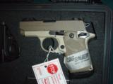 Sig Sauer P238 Desert Tan .380 pistol - 2 of 7