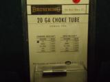 Browning 20ga Stainless steel choke tubes.. - 1 of 1