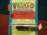12 ga Truelock Tru-Choke Sporting Clays Stainless Steel IMP CYL for a Baikal Shotgun