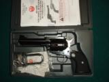 New Model Ruger Black Hawk 357 mag. - 1 of 3