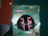 ladies Pink E-Max ear muffs - 1 of 1