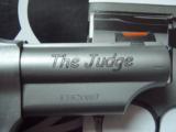 NIB Taurus Judge Stainless Steel Finish 45lc-410 revolver - 2 of 4
