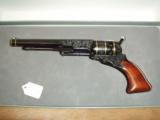 Colt 1842 Patterson 36cal percussion revolver Engraved modern - 1 of 4