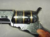 Colt 1842 Patterson 36cal percussion revolver Engraved modern - 2 of 4