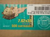 500 rounds of Brown Bear 7.62x39mm AMMO - 1 of 1