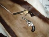 Colt New 22 and a Morgan Clapp Antique Pistols - 2 of 6