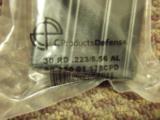 (2) AR15 30-round aluminum/teflon coated mag NEW - 2 of 3