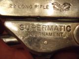 Hi-Standard model 102 Supermatic tournament 22lr S/S - 3 of 5