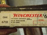 Winchester Canadian Senteneal 30-30 Lever actioan rifle - 1 of 6