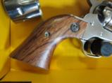 Ruger single six .22 magnum/LR SA Revolver stainless - 8 of 9