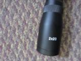 FM pistol scope 2x20MM - 2 of 3