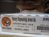 Henry Golden Boy .22 LR lever action rifle - 1 of 6