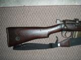 Lee Enfield British 303 rifle bolt action - 1 of 9
