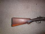 W Richards double barrel 12 GA shotgun - 4 of 9