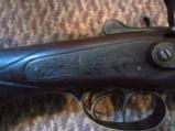 W Richards double barrel 12 GA shotgun - 6 of 9