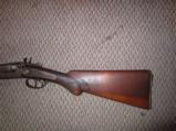 W Richards double barrel 12 GA shotgun - 2 of 9