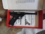 Ruger Standard Model Mark 1 semi auto pistol 22 - 1 of 6