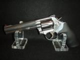 Quality Smith & Wesson 357 mag 38spl 6in Polished Stainless Comfort Grip - 6 of 9