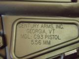 Century Arms C93 223.cal Pistol - 4 of 8