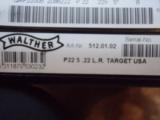 Walther P22 Targer 22cal LR Pistol - 5 of 5
