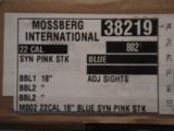 Mossberg model 802 plinkster 22cal rifle (PINK) - 7 of 7