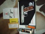 Ruger SR1911CMD .45 auto pistol SS New in Box 2 mags and Ruger Soft Case - 1 of 4
