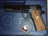 Colt 1911 National Match Pre-Series .45 acp 5 - 1 of 9