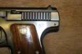 Smith & Wesson .32 auto pistol Serial #130 - 4 of 9